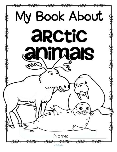 Arctic animals and penguins activities for preschool, prek