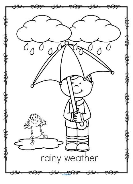 Weather Activities Pack for Preschool