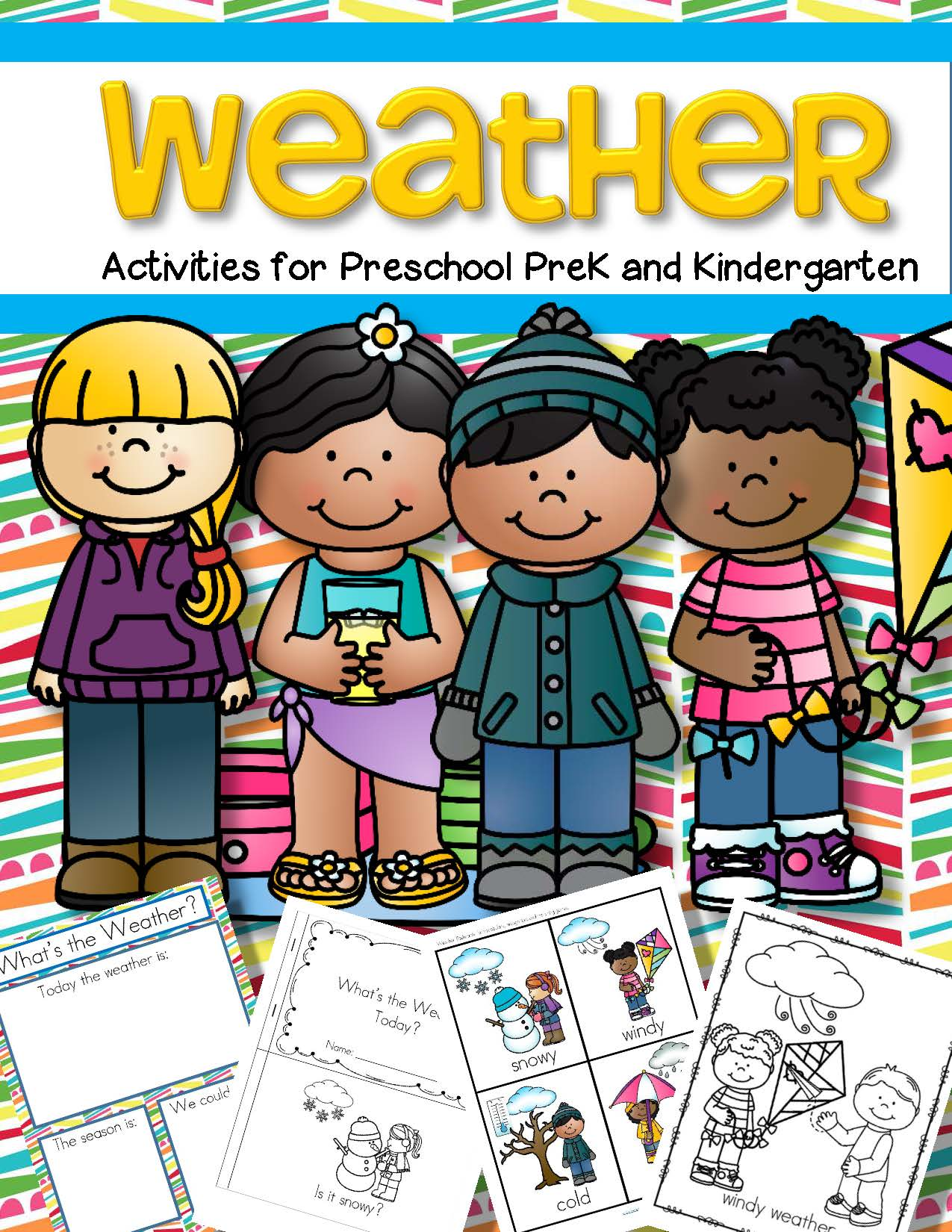 Weather Activities Pack For Preschool