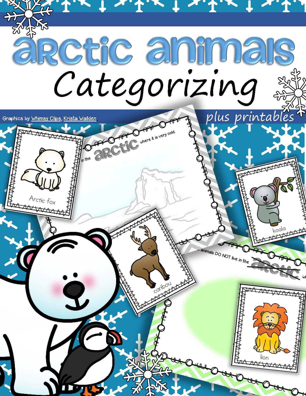 Arctic Animals Categorizing Center