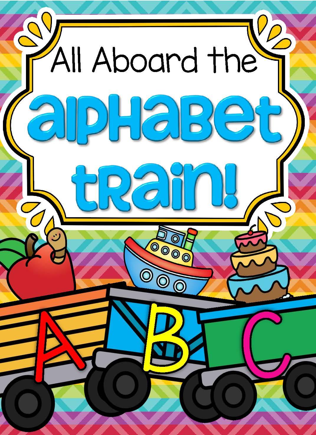 Alphabet Train Matching Upper And Lower Case Beginning Sounds