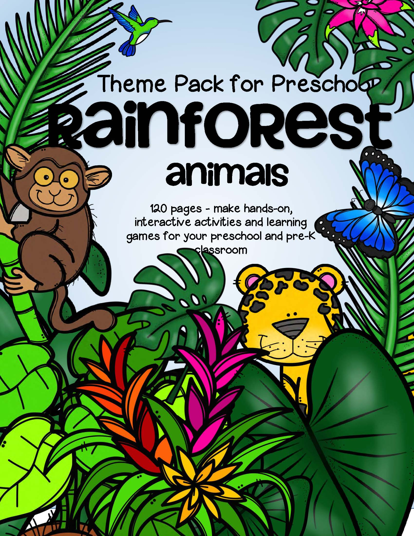 Rainforest Plants Facts Worksheet