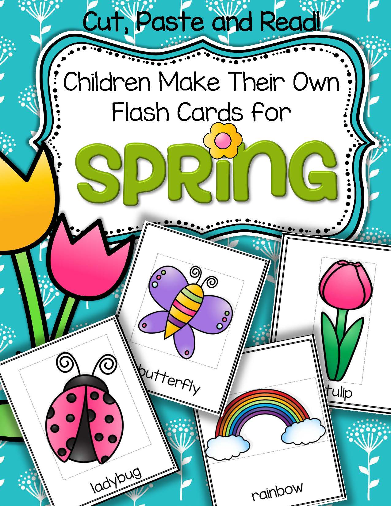 Spring Vocabulary Center And Printables
