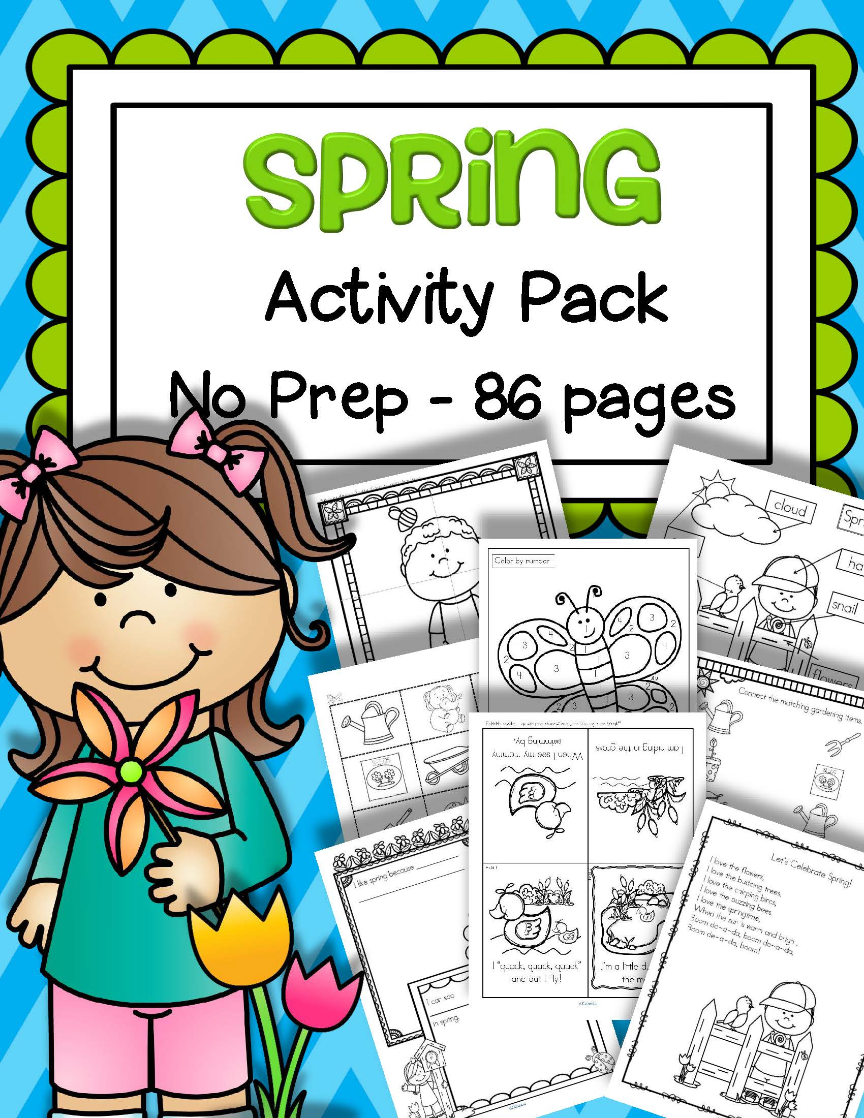 Spring Activities Printables No Prep