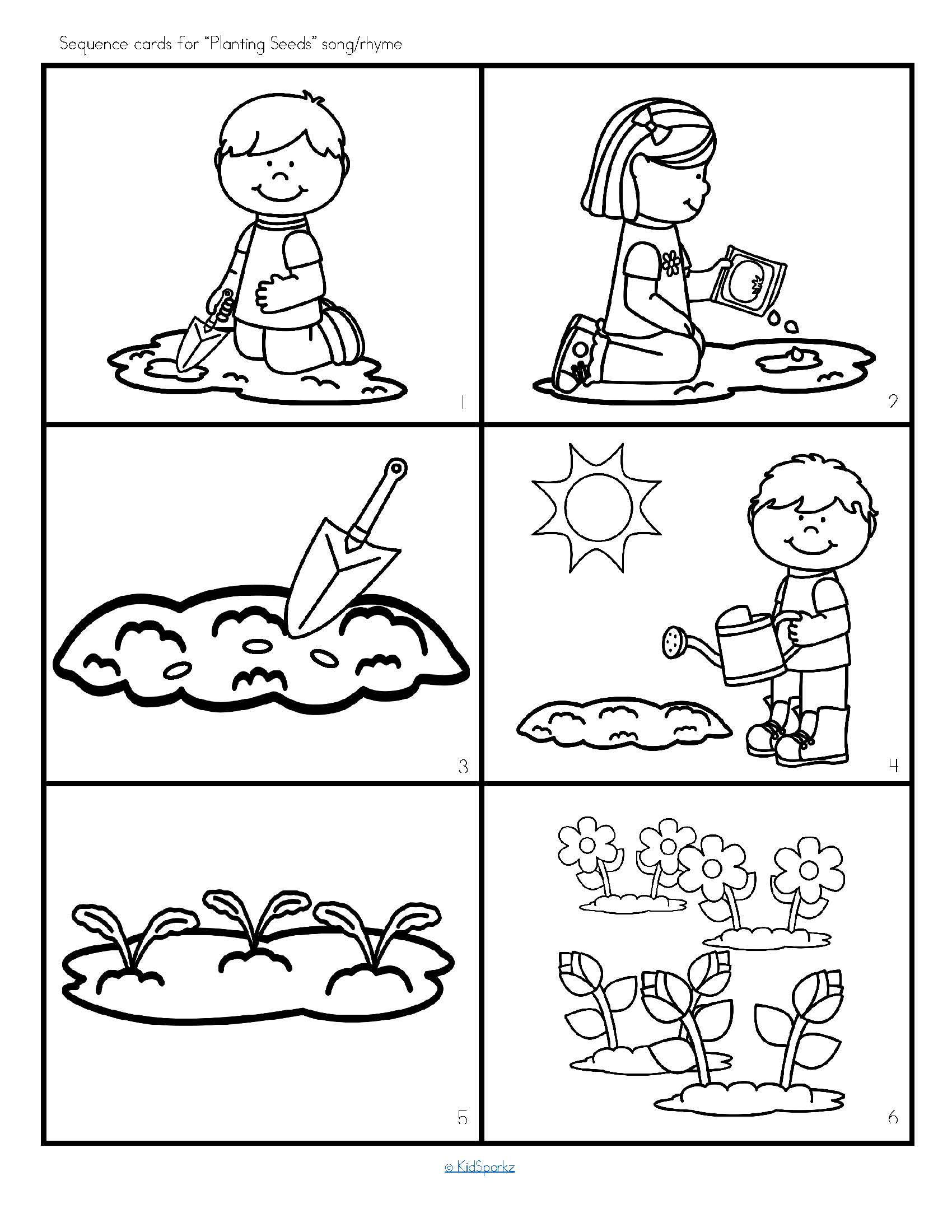 Luscious Spring Printable Activities
