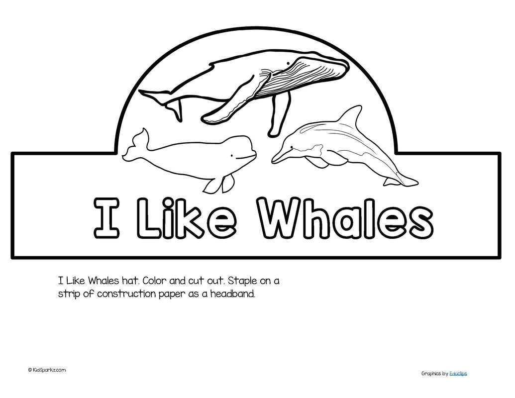 Whales Theme Activities And Printables For Preschool Pre