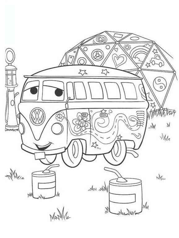 FREE Disney Cars Coloring Pages