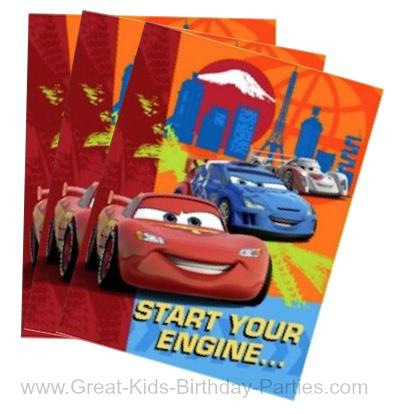disney cars birthday party