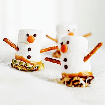 Marshmallow Christmas Crafts