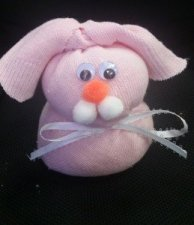 How To Make A Sock Bunny Cute And Easy Easter Spring Craft For Kids