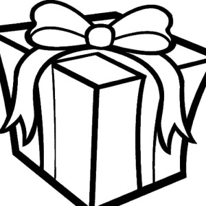 christmas present coloring pages # 14