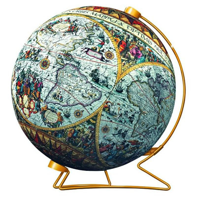 ancient-world-map-puzzleball