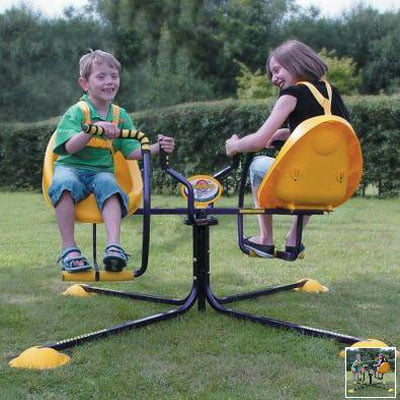 The Children's Whirlybird - Your Kids Exciting Spin-Ride