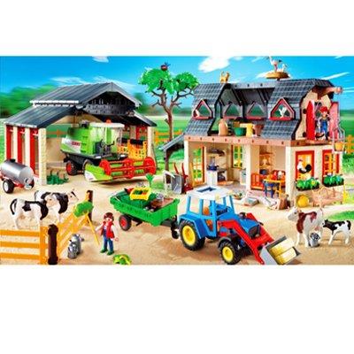 Playmobil Mega Farm Set - Your Kids Complete Farm Play Set