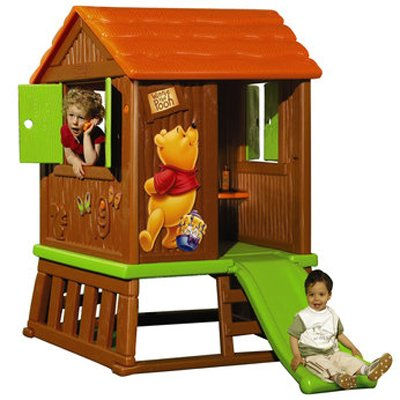 Smoby Winnie the Pooh Log Cabin - The Colorful Play House For Kids