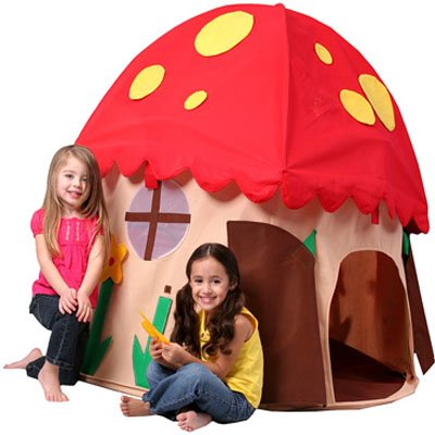 Mushroom-House-Play-Structure