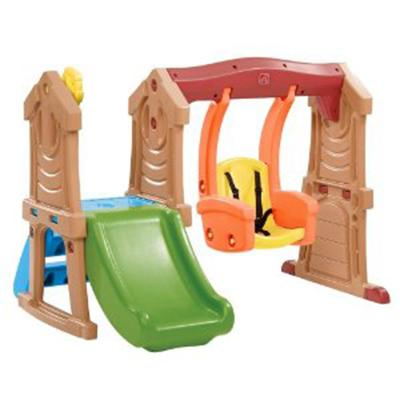 Step2 Play Up Toddler Swing and Slide - Colorful Swing and Slide Set for Kids