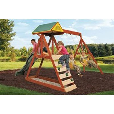 Parkside Wood Swing Set