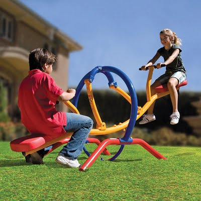 The Dual Pendulum Seesaw - Smoother and gentler as compared with other teeter-totter seesaws