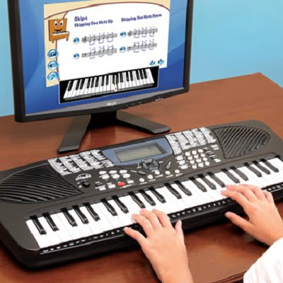 learn how to play songs on the keyboard