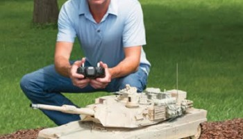 The Remote Controlled Abrams Tank