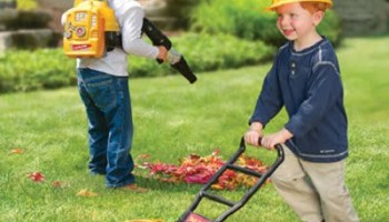 The Sound Emulating Junior Landscapers Tools