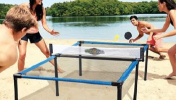 The Beach Tennis Table Set