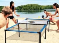 The Beach Tennis Table Set