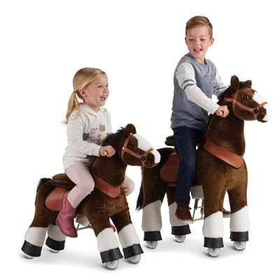 The Ride-On Plush Pony