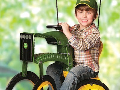 The John Deere Tractor Swing 1