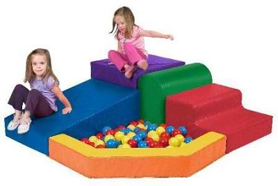 SoftZone Primary Climber With Ball Pool Playcenter1