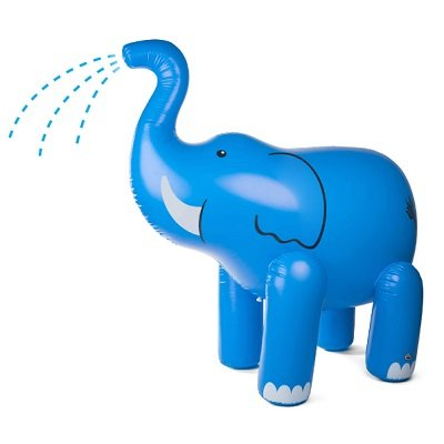 The 7 Foot Tall Water Spraying Pachyderm 1