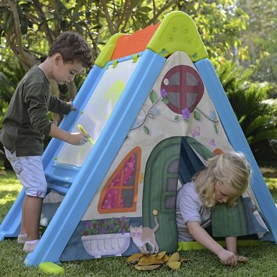 The Climb Draw and Play Fort Set