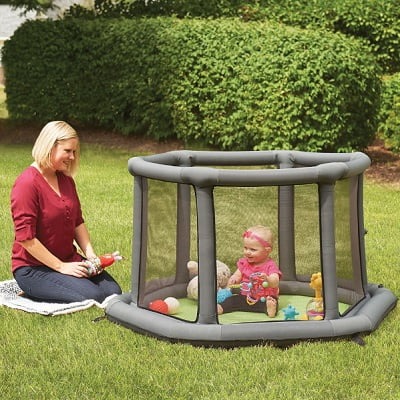 The Portable Inflatable Play Yard