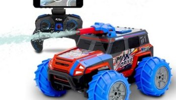 The Live Streaming Squirting RC Truck