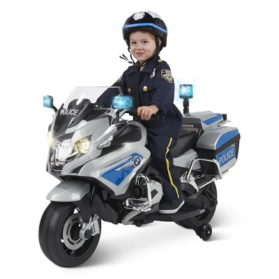 The Ride On BMW Police Motorcycle