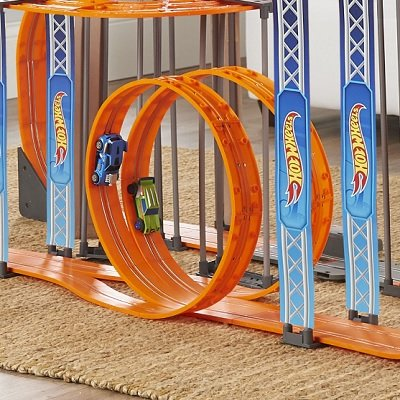 Gravity Defying Hot Wheels Slot Car Set