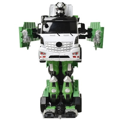 Voice Activated Transforming Garbage Truck 1