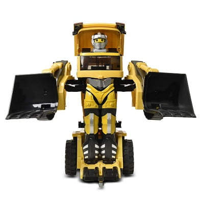 Voice Activated Transforming Construction Truck 1
