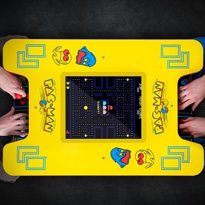 Pac-Man Cocktail Arcade Table 1