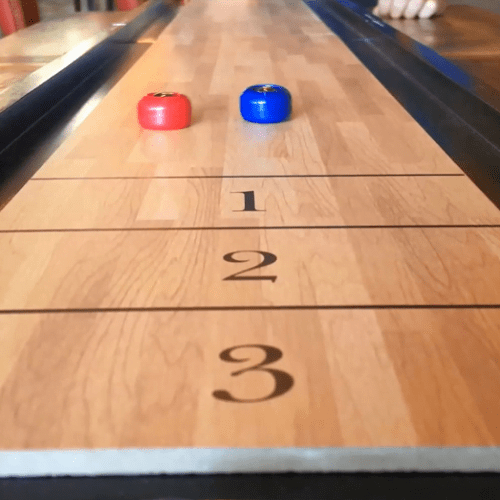 Portable Tabletop Shuffleboard1