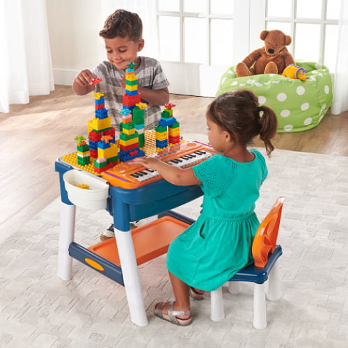 Music Playing Building Activity Table
