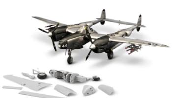 P-38L-Lightning-WWII-Model-Kit