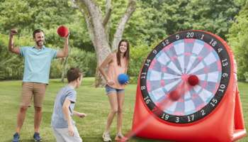 Kickball-Dartboard