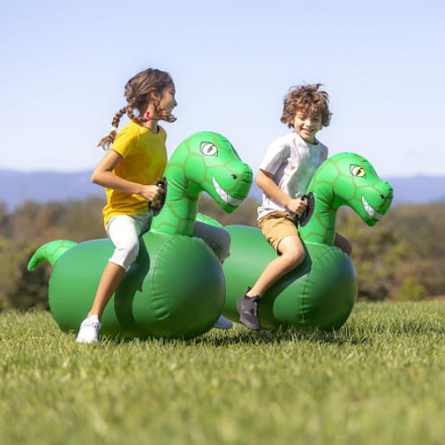 Inflatable Bounce Race Dinos