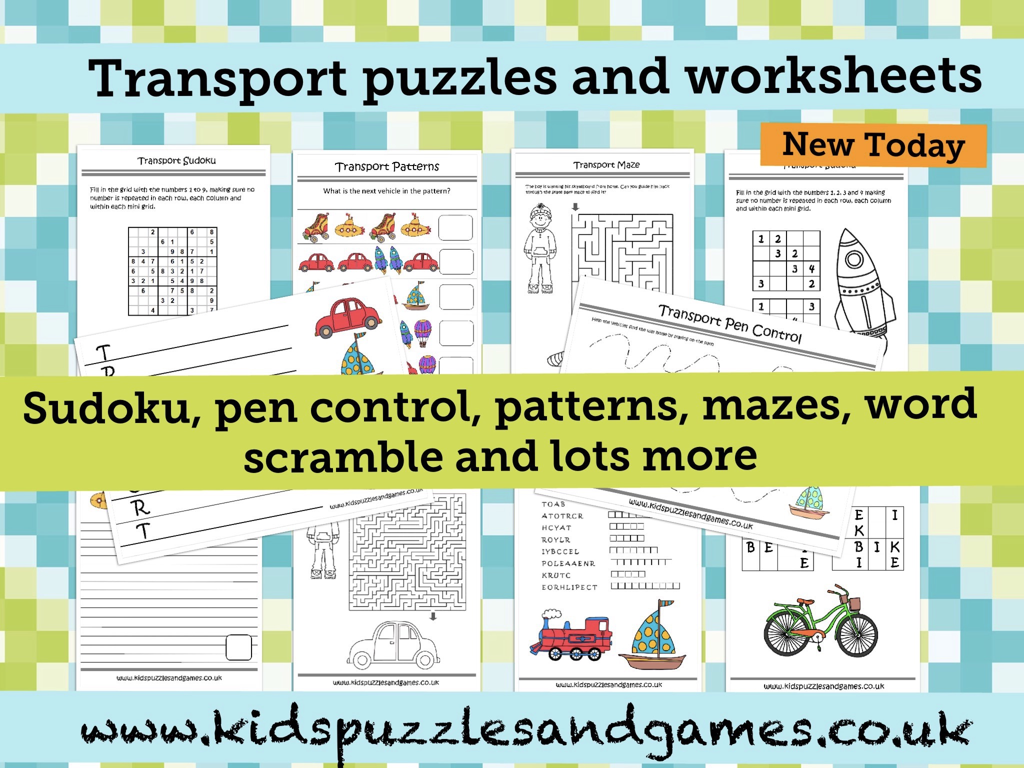 Welcome To Kids Puzzles And Games