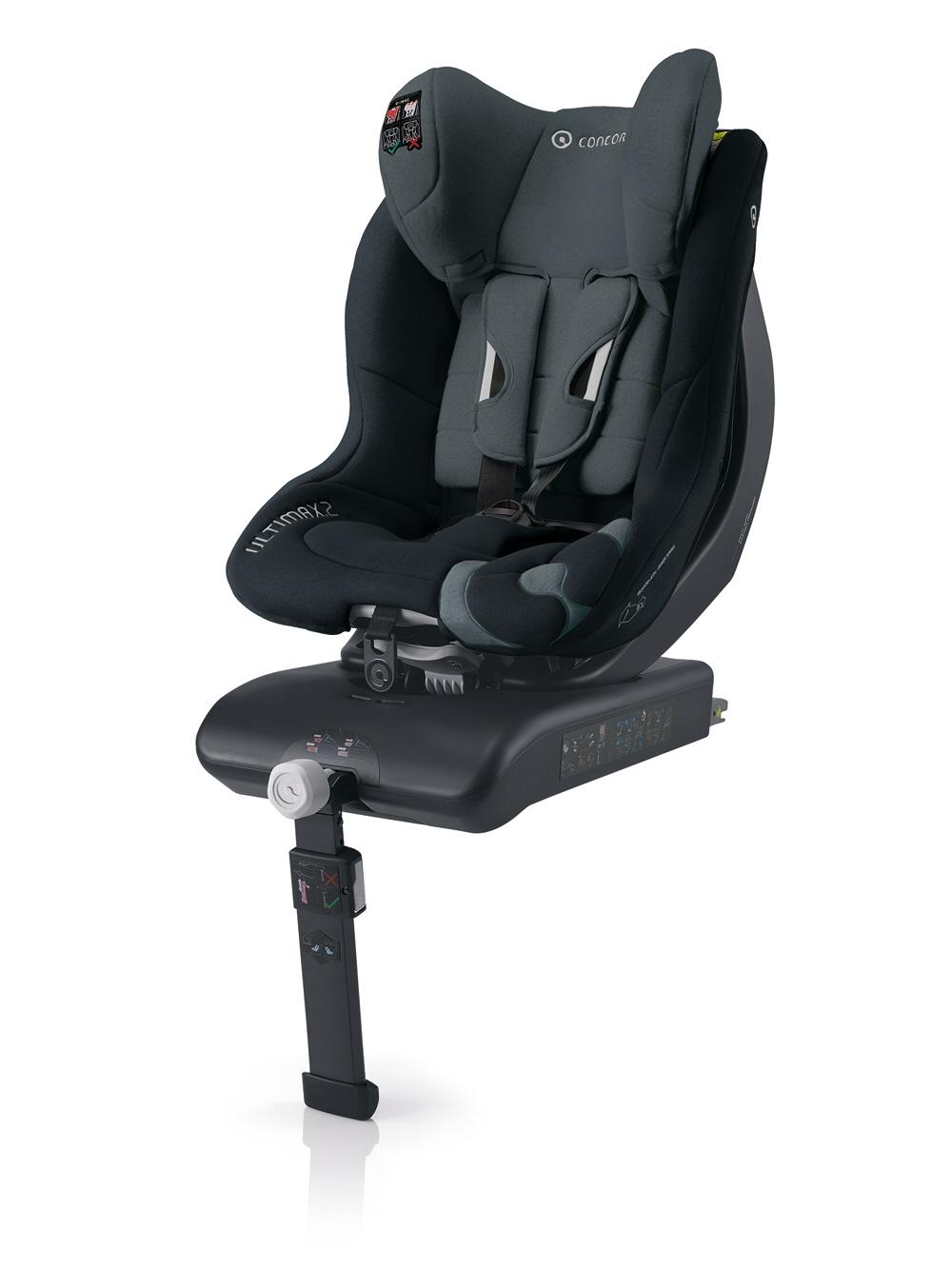 Concord Silla de coche Ultimax2 Isofix 2014 Phantom Black  Comprar en kidsroom  Sillas de coche