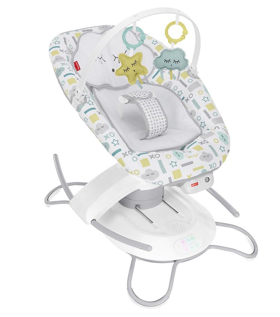 Fisher-Price 嬰兒電動智能搖椅二合一 | kidsroom.de