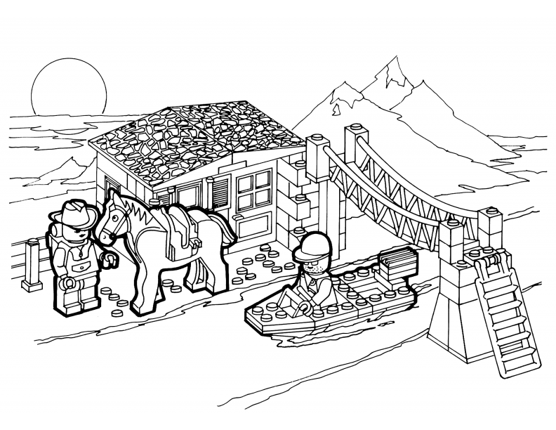 Old Fire Engine Coloring Coloring Pages