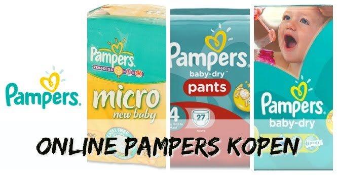 Pampers online kopen